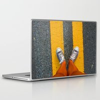 converse Laptop & iPad Skins featuring Converse Contrast by jyoshimitsuj