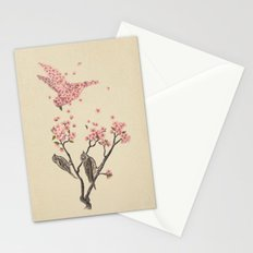 Blossom Bird  Stationery Cards