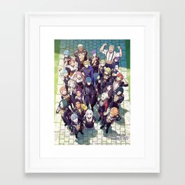 Fire Emblem Three Houses Framed Art Print