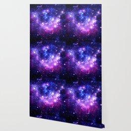 Purple Blue Galaxy Nebula Wallpaper