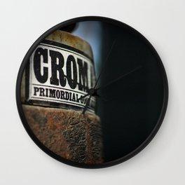 Primordial Crom* Wall Clock