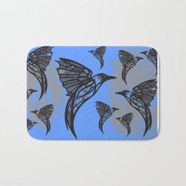 Hummingbirds | Art Deco | Modern Art | Vibrant Colors | Pastels | Art | NEW Bath Mat