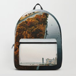 chicago aerial view Backpack