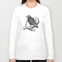 key Long Sleeve T-shirts featuring Raven's Key by Rachel Caldwell