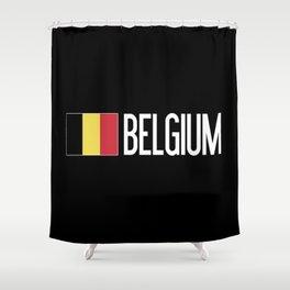 Belgium: Belgian Flag & Belgium Shower Curtain
