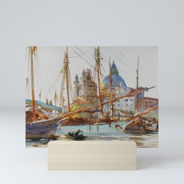 "John Singer Sargent ""The Church of Santa Maria della Salute, Venice"" Mini Art Print"