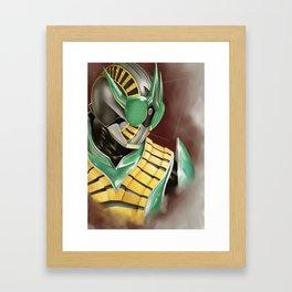 Kamen Rider Zeronos Framed Art Print