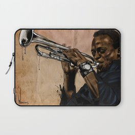 Miles, jazz will never be the same Laptop Sleeve