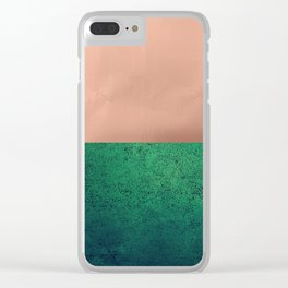 NEW EMOTIONS - LUSH MEADOW Clear iPhone Case