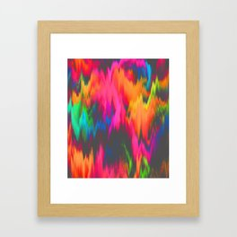 Rainbow Sweat Framed Art Print