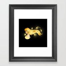 Wind Butterflies Framed Art Print