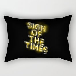 Sign Of The Times Rectangular Pillow