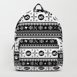 Ugly Sweater Society6 Backpack