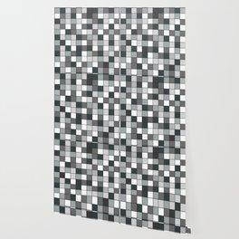Square compound pattern Wallpaper