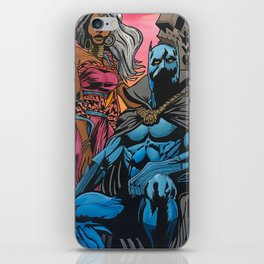 Black Panther iPhone Skin