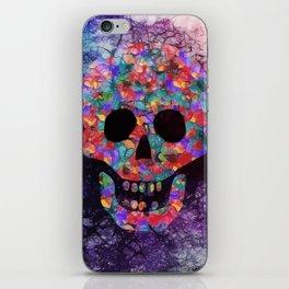Happy skull iPhone Skin