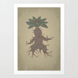 Mandragora Art Print