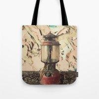 lantern Tote Bags featuring Lantern by Shaun Lowe