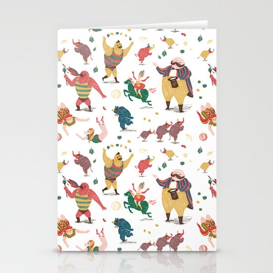 The Circus is coming to town! Stationery Cards