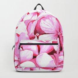 Blooming hydrangea Backpack