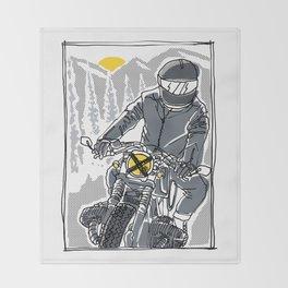 Enjoy the Ride Throw Blanket