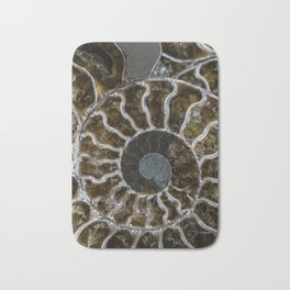 Patterns of ammonite Bath Mat