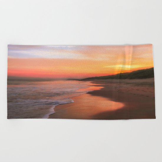 A Summers morning Beach Towel