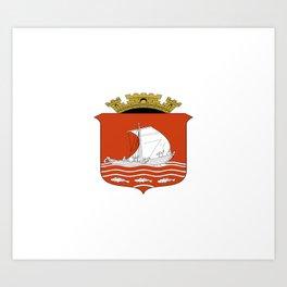 flag of Ålesund Art Print