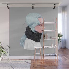 Cold. Wall Mural