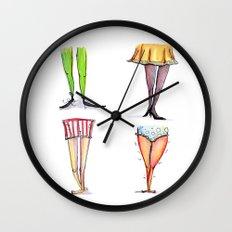 Legwork Squared Wall Clock