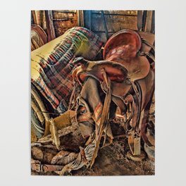 The Old Tack Room Poster