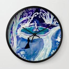 The Ice Garden Wall Clock