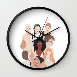 Women | International Women's Day Wall Clock
