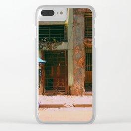 Cuban Transit Clear iPhone Case