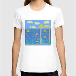 God has gone Fishin' T-shirt