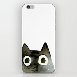 I Love Cats No.13 by Kathy Morton Stanion iPhone Skin