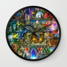 Once Upon a Fairytale Wall Clock