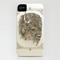 Portrait of a Buffalo iPhone (4, 4s) Slim Case