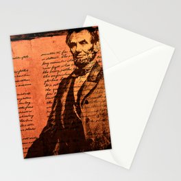 Abraham Lincoln and the Gettysburg Address Stationery Cards