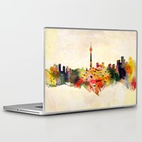 toronto Laptop & iPad Skins featuring  Toronto  by mark ashkenazi