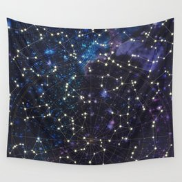 Sky map Wall Tapestry