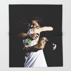 Larry Hug Throw Blanket
