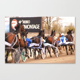 Trotters Canvas Print