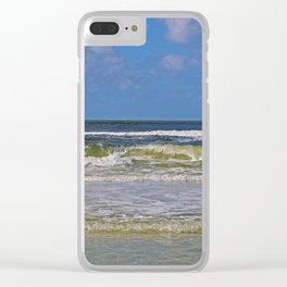 A Siesta Kinda Day Clear iPhone Case