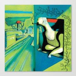 ORANGE ROOM Canvas Print