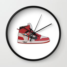 Jordan 1 - OFFWHITE Wall Clock