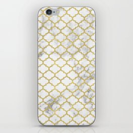 Moroccan marble iPhone Skin