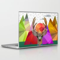 merry christmas Laptop & iPad Skins featuring merry Christmas by mark ashkenazi