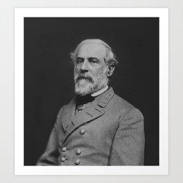Civil War General Robert E. Lee Art Print