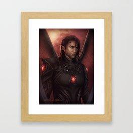 Cass Framed Art Print
